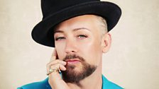 Image for Boy George on fashion, religion and his return to music
