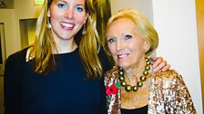Image for The star of The Great British Bake Off, Mary Berry answers your questions with Laura