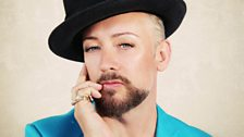 Image for Boy George chats to Stuart Maconie
