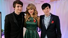Image for Dan & Phil with Taylor Swift