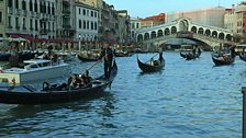 Image for Is Venice sinking under the weight of too many tourists?