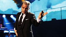 Image for Robbie Williams - Shine My Shoes at Children in Need Rocks 2013