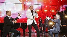 Image for Barry Manilow, Robbie Williams and Gary Barlow - Could It Be Magic at Children In Need Rocks 2013