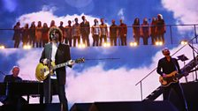 Image for Jeff Lynne & Voices  - Mr. Blue Sky at Children In Need Rocks 2013