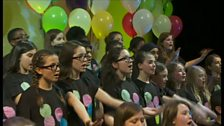 Image for Manchester choir perform Sing for BBC Children in Need