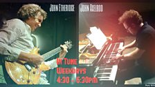 Image for Spontaneous studio jam from John Etheridge and John Axelrod