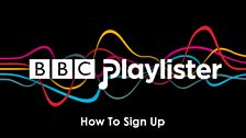 Image for BBC Playlister: How to sign up #getplaylisting
