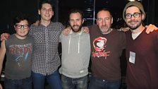 Image for White Denim live in session for Marc Riley