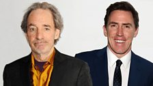 Image for Harry Shearer and Rob Brydon chat to Radcliffe and Maconie
