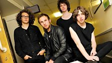 Image for Catfish and the Bottlemen live in session for Huw Stephens