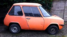 Image for Britain's first electric car