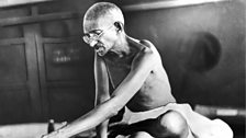 Image for What Gandhi learned from the vegetarians as a young man in 1880's London: Photo credit: Hulton Archive/ Getty