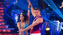 Image for Ashley Taylor Dawson & Ola dance the Rumba to 'A Whole New World'