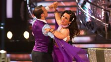 Image for Susanna Reid & Kevin dance the Quickstep to 'Good Morning'