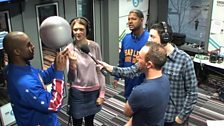 Image for Rachel Burden vs Harlem Globetrotters