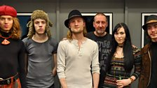 Image for Purson in session for Marc Riley