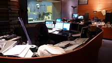 Cubicle - the studio's control room