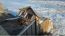 Image for Flood victim whose bungalow collapsed into the sea