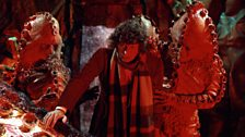 A moment from Terror of the Zygons.