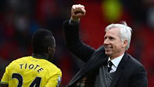 Image for Alan Pardew on Newcastle's triumph at Old Trafford