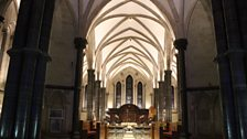 The interior of Temple Church