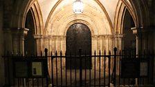 The Norman door at Temple Church
