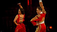 Image for Susanna Reid & Kevin Paso Doble to 'Los Toreadors'
