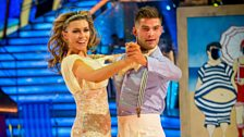 Image for Abbey Clancy & Aljaz Quickstep to 'Walking On Sunshine'