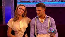 Image for Abbey and Aljaz talk about winning Strictly 2013