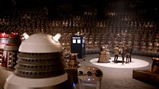 A moment from Asylum of the Daleks (2012)