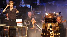 A Dalek at the Doctor Who Proms!