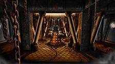 Production artwork from Asylum of the Daleks