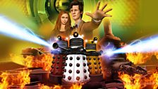 A visual from Doctor Who: The Adventure Games.
