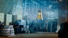And the 'new' Daleks could fly!