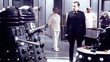 The Daleks' creator: Davros (far right).