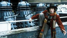 A publicity shot for the Fourth Doctor's first season.