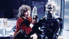 The Doctor realises Davros is insane…