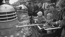 The Daleks proved an instant hit!