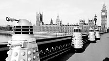 The Daleks on location for their second adventure…