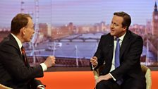 David Cameron on The Andrew Marr Show, 5th January
