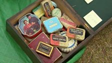 Image for The red team spot a box of collectable tins