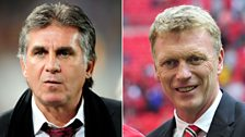 Image for Queiroz on United's form and Moyes