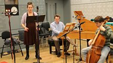 Image for Anna Dennis, Julian Perkins and Jonathan Rees of Sounds Baroque perform Handel's aria Piacer che non si dona