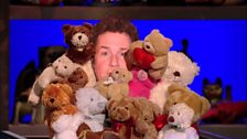 Image for Michael Ball on people buying him Teddy bears