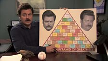 Image for Ron Swanson's Pyramid of Greatness