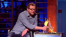 Image for Miles Jupp on children who climb up slides the wrong way
