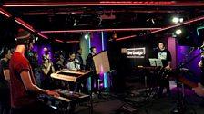 Image for Bastille perform Flaws in Radio 1's Live Lounge