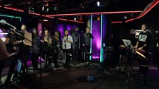 Image for Bastille perform Earth Song/Common People in Radio 1 Live Lounge