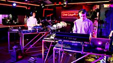 Image for Disclosure ft Aluna George - White Noise in the Live Lounge