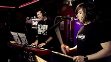 Image for Behind the scenes with Bastille in the Live Lounge